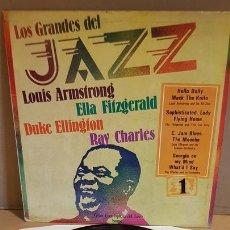 Discos de vinilo: LOS GRANDES DEL JAZZ Nº 1 / LP - SARPE-1980 / MBC. ***/***. Lote 171629980