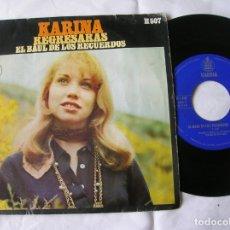 Discos de vinilo: DISCO DE KARINA REGRESARAS Y EL BAUL DE LOS RECUERDOS. Lote 171632328