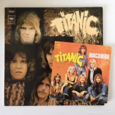 Discos de vinilo: LP TITANIC, SEA WOLF + SINGLE MACUMBA. Lote 171638728