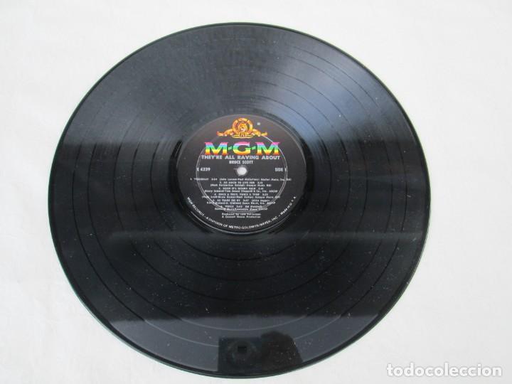 Discos de vinilo: THEY´RE ALL RAVING ABOUT BRUCE SCOTT. LP VINILO. MGN RECORDS. VER FOTOGRAFIAS ADJUNTAS - Foto 3 - 171648805