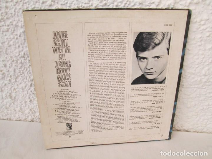 Discos de vinilo: THEY´RE ALL RAVING ABOUT BRUCE SCOTT. LP VINILO. MGN RECORDS. VER FOTOGRAFIAS ADJUNTAS - Foto 9 - 171648805