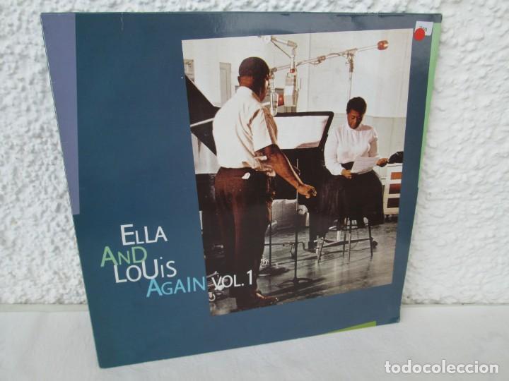 ELLA AND LOUIS AGAIN. VOL. 1. LP VINILO. VERVE RECORDS 1958. VER FOTOGRAFIAS ADJUNTAS (Música - Discos de Vinilo - EPs - Jazz, Jazz-Rock, Blues y R&B)