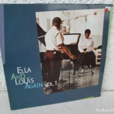 Discos de vinilo: ELLA AND LOUIS AGAIN. VOL. 1. LP VINILO. VERVE RECORDS 1958. VER FOTOGRAFIAS ADJUNTAS. Lote 171649247