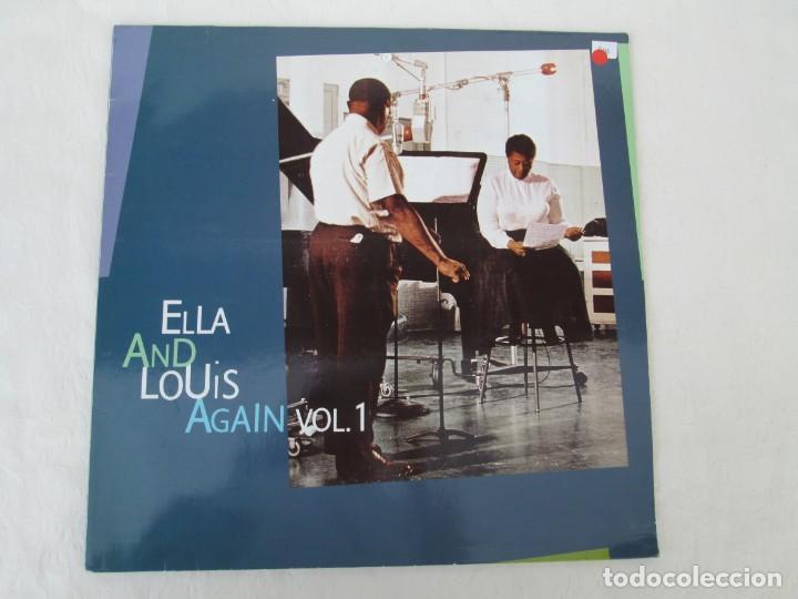Discos de vinilo: ELLA AND LOUIS AGAIN. VOL. 1. LP VINILO. VERVE RECORDS 1958. VER FOTOGRAFIAS ADJUNTAS - Foto 2 - 171649247