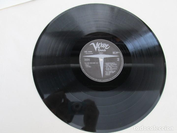 Discos de vinilo: ELLA AND LOUIS AGAIN. VOL. 1. LP VINILO. VERVE RECORDS 1958. VER FOTOGRAFIAS ADJUNTAS - Foto 5 - 171649247