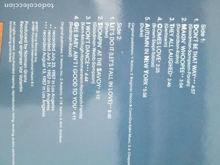 Discos de vinilo: ELLA AND LOUIS AGAIN. VOL. 1. LP VINILO. VERVE RECORDS 1958. VER FOTOGRAFIAS ADJUNTAS - Foto 7 - 171649247