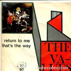 Discos de vinilo: THE VALUES / RETURN TO ME / THAT'S THE WAY (SINGLE 1968). Lote 171651334