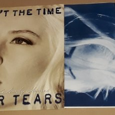Discos de vinilo: LP - WENDY JAMES - NOW AIN'T THE TIME FOR YOUR TEARS - TRANSVISION VAMP / RACINE. Lote 171652209