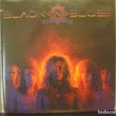 Discos de vinilo: BLACK 'N BLUE - IN HEAT / ALBUM LP MADE IN USA 1988. VG+-NM. Lote 171656374