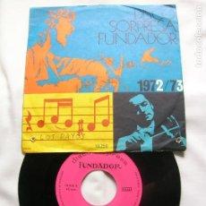 Discos de vinilo: DISCO DE FUNDADOR ,LOS PAYOS 1972,73. Lote 171661249