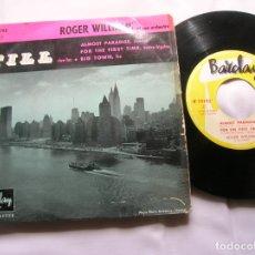 Discos de vinilo: DISCO DE ROGER WILLIAMS Y SU ORQUESTA ,HIT- PARADES AMERICAINS AÑO 1950. Lote 171661695