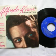 Discos de vinilo: DISCO DE ALFREDO KRAUS ROMANZAS ,ORQUESTA DE CONCIERTOS DE MADRID 1959. Lote 171663334