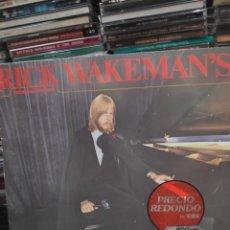 Discos de vinilo: RICK WAKEMAN CRIMINAL RÉCORD. Lote 171663375