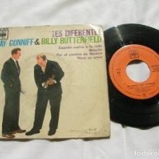 Discos de vinilo: DISCO RAY CONNIFF Y BILLY BUTTERFIELD INCLUYE 4 TEMAS. Lote 171664350