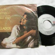 Discos de vinil: DISCO DE ANGELA CARRASCO ,TEMAS CALLADOS Y DOS CUERPOS. Lote 171664885