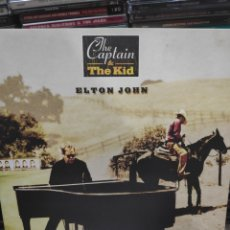 Discos de vinilo: THE CAPTAIN AND THE KID ELTON JOHN. Lote 171667908