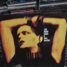 Discos de vinilo: LOU REED ROCK AND ROLL ANIMAL. Lote 171668070