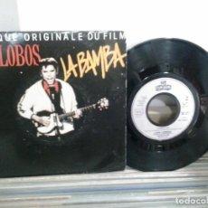 Disques de vinyle: LMV - LOS LOBOS. LA BAMBA. LONDON 1987. Lote 171669188