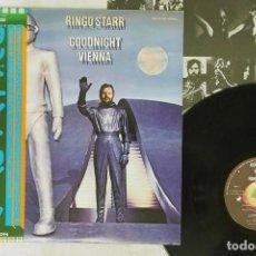 Discos de vinilo: RINGO STARR - GOODNIGHT VIENNA ( JAPAN IMPORT ). Lote 171669677