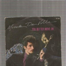 Discos de vinilo: MINK DE VILLE YOU BETTER MOVE + REGALO SORPRESA. Lote 171670120