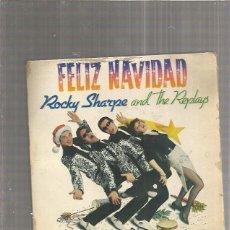 Discos de vinilo: ROCKY SHARPE NAVIDADES BLANCAS. Lote 171670370