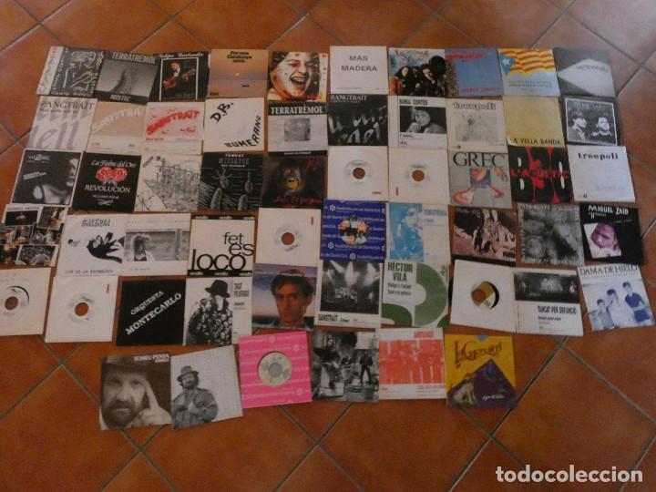 LOTE 56 SINGLES CREO QUE SIN PONER DE GRUPOS RAROS DE POP ROCK CATALAN AÑOS 80 ETC ...VER LISTA (Música - Discos - Singles Vinilo - Grupos Españoles de los 90 a la actualidad)