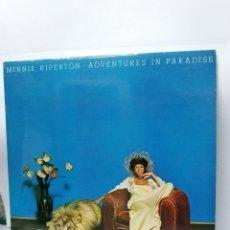 Discos de vinilo: LP ** MINNIE RIPERTON ** ADVENTURES IN PARADISE ** COVER/ MINT ** LP/ NEAR MINT ** EPIC 1975. Lote 171671857