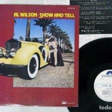 Discos de vinilo: AL WILSON - SHOW AND TELL (PROMO) ( JAPAN IMPORT ). Lote 171673274