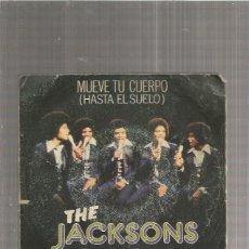 Disques de vinyle: JACKSONS MUEVE TU CUERPO. Lote 171675569