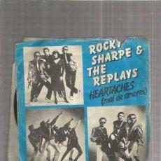 Disques de vinyle: ROCKY SHARPE. Lote 171676125