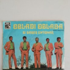 Discos de vinilo: LOS JAVALOYAS OBLADI OBLADA. Lote 171677425
