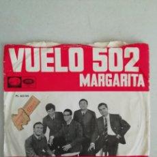 Discos de vinilo: LOS JAVALOYAS VUELO 502. Lote 171685929