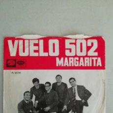 Discos de vinilo: LOS JAVALOYAS VUELO 502. Lote 171685945