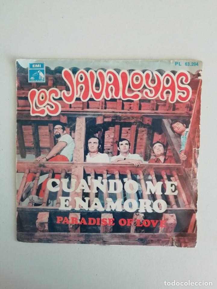 LOS JAVALOYAS CUANDO ME ENAMORO (Música - Discos - Singles Vinilo - Grupos Españoles 50 y 60)