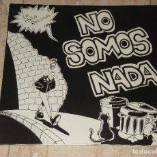 Discos de vinilo: LA POLLA RECORDS - NO SOMOS NADA, LP GATEFOLD, 1987, ESPAÑA, PRIMERA EDICIÓN TXATA-TL-001-. Lote 171690423