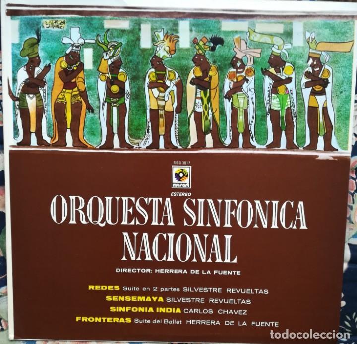 REVUELTAS,CHÁVEZ Y HERRERA DE LA FUENTE. TRES COMPOSITORES MEXICANOS. ORQUESTA SINFÓNICA DE MÉXICO (Música - Discos - Singles Vinilo - Clásica, Ópera, Zarzuela y Marchas)
