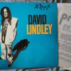 Discos de vinilo: DAVID LINDLEY - EL RAYO X. LP EDICIÓN ESPAÑOLA 1981. PROMOCIONAL. Lote 171695738