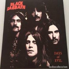 Discos de vinilo: BLACK SABBATH – DAYS OF EVIL -LP-. Lote 245957170