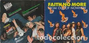FAITH NO MORE FROM OUT OF NOWHERE + DOS TEMAS EN DIRECTO EDICION INGLESA (Música - Discos - Singles Vinilo - Heavy - Metal)