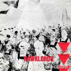 Discos de vinilo: HAWKLORDS 25 YEARS PROYECTO DE HAWKWIND VINILO GRIS MUY RARO. Lote 171706672