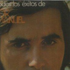 Disques de vinyle: VICTOR MANUEL TODOS LOS EXITOS. Lote 171708980