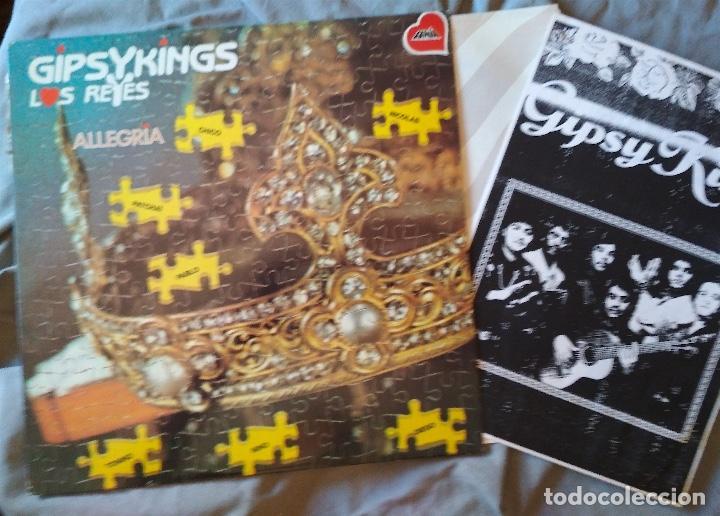 GIPSYKINGS - ALLEGRIA. LP FANIA 1989 (Música - Discos - LP Vinilo - Pop - Rock Extranjero de los 90 a la actualidad)