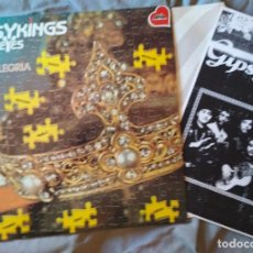 Discos de vinilo: GIPSYKINGS - ALLEGRIA. LP FANIA 1989. Lote 171712648