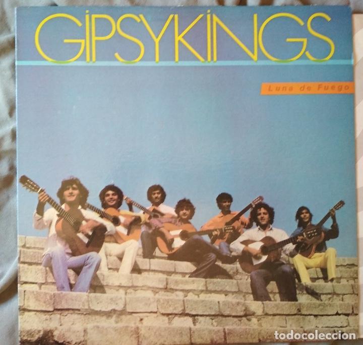 GIPSYKINGS - LUNA DE FUEGO. LP FANIA 1989 (Música - Discos - LP Vinilo - Pop - Rock Extranjero de los 90 a la actualidad)