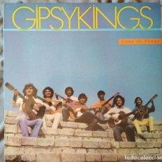 Discos de vinilo: GIPSYKINGS - LUNA DE FUEGO. LP FANIA 1989. Lote 171712769