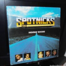 Discos de vinilo: THE SPOTNICKS ----L.P.------- HIGHWAY BOOGIE -- COMMANDER 39004. Lote 171714148