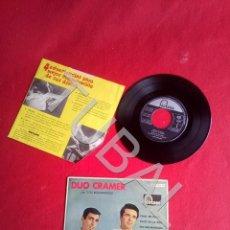Discos de vinilo: TUBAL EP DUO CRAMER TWIT EN BLUES CON LOS RELAMPAGOS BUEN ESTADO. Lote 171715227