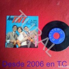 Discos de vinilo: TUBAL EP LOS TNT MI TIMIDEZ BUEN ESTADO. Lote 171715264