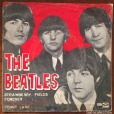 Discos de vinilo: THE BEATLES. STRAWBERRY FIELDS FOREVER/ PENNY LANE. Lote 171718877