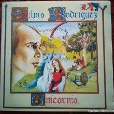 Discos de vinilo: SILVIO RODRIGUEZ. UNICORNIO. VINILO DEL SELLO EGREM, CUBA 1982. Lote 171724828